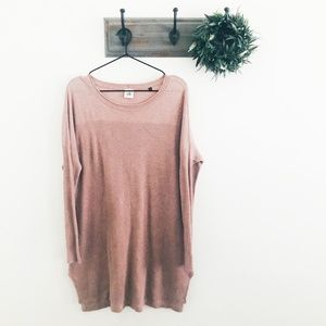 CAbi Mauve Play Pullover Tunic Sweater S 3528